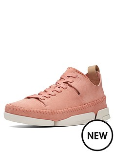 clarks-originals-trigenic-flex-trainers-coral-suede
