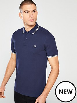 881a95b3727 Fred Perry Twin Tipped Polo Shirt