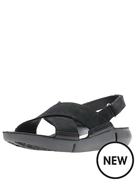 2c8678445be14 Clarks Tri Chloe Flat Sandals - Black