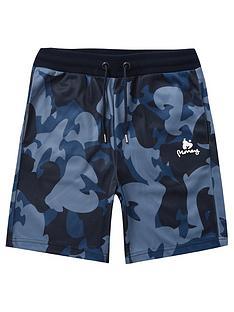 money-boys-camo-jersey-shorts-navy