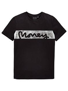 money-boys-short-sleeve-foil-singnature-t-shirt