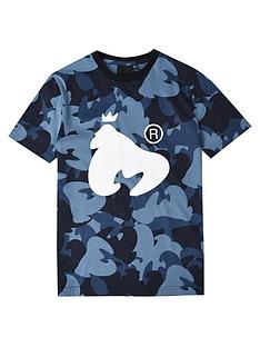 money-boys-short-sleeve-ape-camo-t-shirt-blue