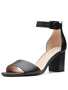 clarks-deva-mae-heeled-sandals-black