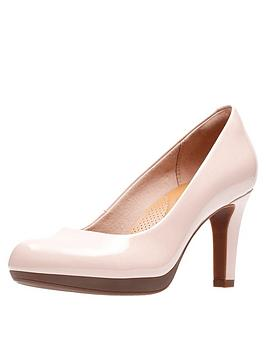845a14491b7 Adriel Viola Heeled Court Shoes - Nude Pink