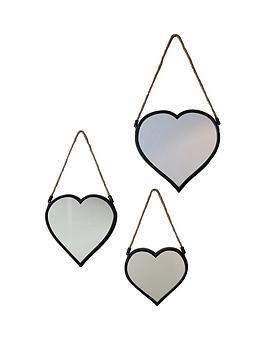 arthouse-set-of-3-heart-mirrors