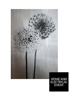 arthouse-nbspfoil-dandelions-canvas-wall-art