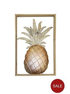 arthouse-pineapple-metal-wall-art