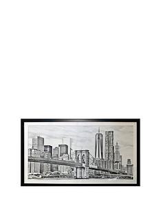 arthouse-brooklyn-bridge-framed-print