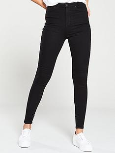 v-by-very-charley-super-skinny-jeans-black
