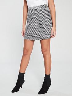 v-by-very-geo-co-ord-mini-skirt-multi