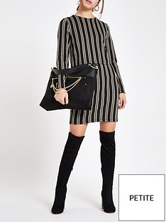 ri-petite-ri-petite-striped-bodycon-day-dress-brown