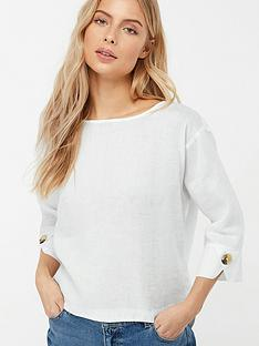 monsoon-adore-linen-t-shirt