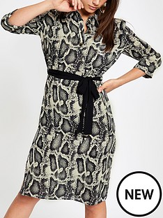ri-petite-snake-print-dress