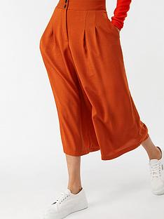 monsoon-carrie-smart-culotte-rust