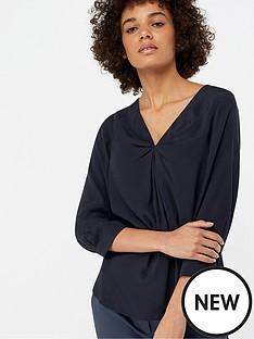 monsoon-salvina-twist-front-blouse