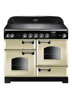 rangemaster-cla110eicr-classic-deluxe-110cmnbspwide-electric-range-cooker-with-induction-hob-cream