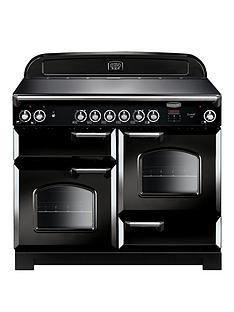 rangemaster-cla110ecbl-classic-deluxe-110cmnbspwide-electric-range-cooker-with-ceramic-hob-black