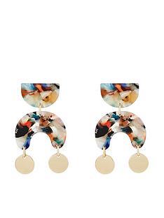 monsoon-mona-mini-tort-gold-circle-earrings-multi