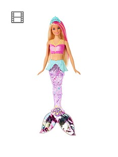 barbie-dreamtopianbspsparkle-lights-mermaid-doll
