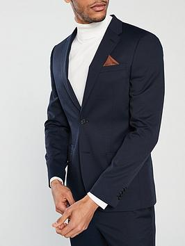 river-island-edward-texture-skinny-navy-jacket