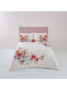 river-island-floral-print-100-cotton-duvet-cover-set