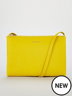 6083770d6757 Ted Baker Cottii Colour Blocked Cross Body Bag - Yellow