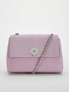Ted Baker Sylvana Circle Lock Cross Body Bag - Light Purple 5e979aacb2e08