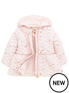 8e76977344dea Baker by Ted Baker Baby Girls Bunny Print Quilted Coat