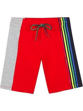 paul-smith-junior-boys-stripe-jersey-shorts