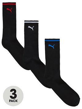 puma-puma-3-pack-stripe-sport-socks-black