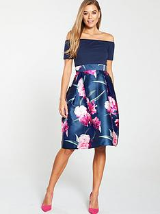 ax-paris-2-in-1nbspskater-dress-navy