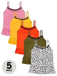 v-by-very-girls-5-pack-trim-vests-multi