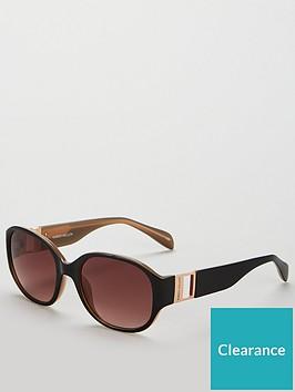 karen-millen-oval-black-sunglasses