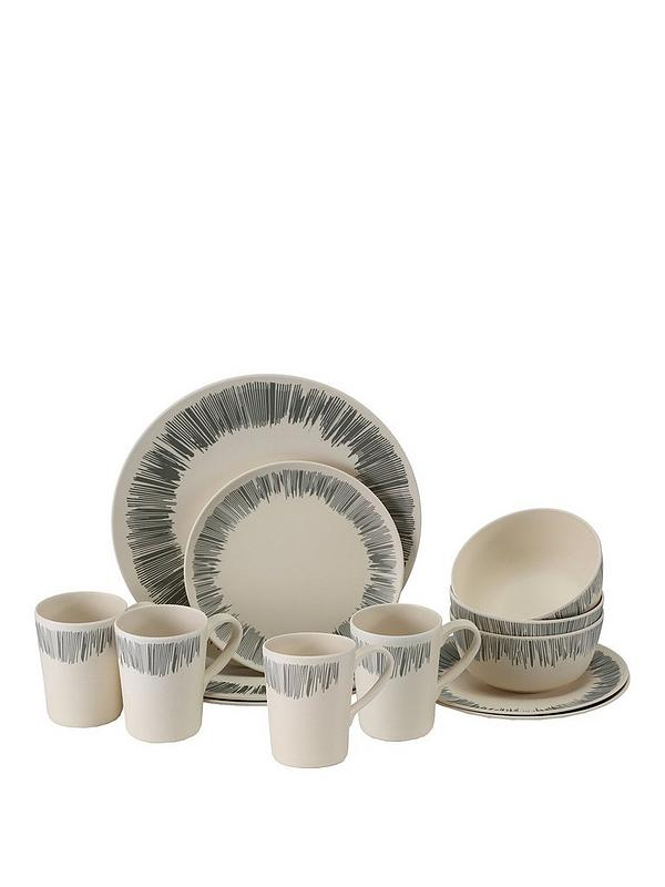4 Person Bamboo Dinner Set