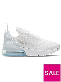 nike-air-max-270-childrens-trainers-whitesilver
