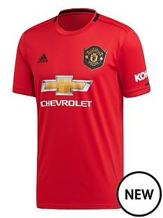 8217f81149b adidas Manchester United 19 20 Home Shirt - Red