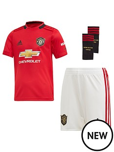 1646cc05b adidas Manchester United Infant 2019 20 Home Mini Kit - Red