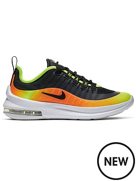 separation shoes 61a0a 6997c Nike Air Max Axis Junior Trainers - Black Orange