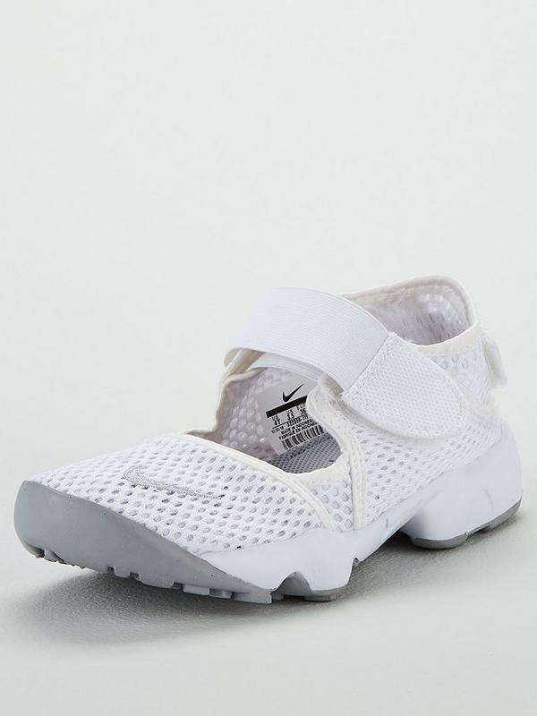 quality products so cheap new high Nike Rift Junior Sandals - White | littlewoodsireland.ie