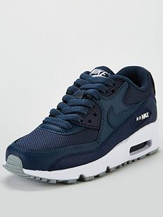 reputable site 17256 93362 Nike Air Max 90 Mesh Junior Trainer