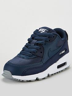 pretty nice e2293 638f4 Nike Air Max 90 Mesh Childrens Trainer