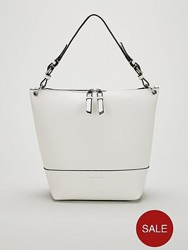 karen-millen-pu-shoulder-bag-white