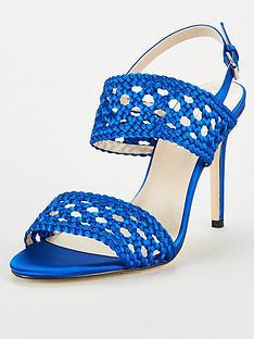 karen-millen-weave-2-strap-sandals-blue