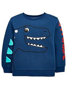mini-v-by-very-boys-dino-raaarwsomenbsp3d-spike-sweatshirt-navy