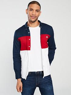 Levi s Colour Block Pacific Shirt - Lychee Red 0cf7f5bdb1b7d