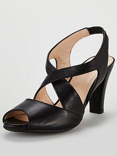 37cdf56b150b Carvela Comfort Annabel Heeled Strappy Sandal Shoes - Black