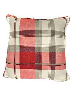 balmoral-check-filled-cushion