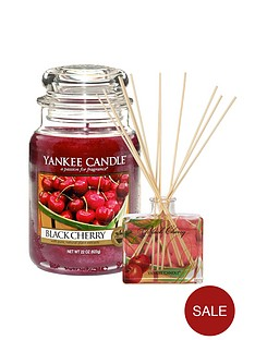 yankee-candle-large-classic-jar-candle-and-reed-diffuser-set-ndash-black-cherry