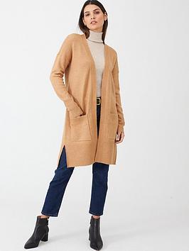 v-by-very-edge-to-edge-split-seam-cardigan-camel