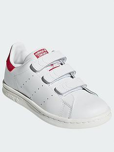 adidas-originals-stan-smith-childrensnbsptrainers-whitepink